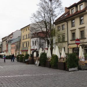 Rubenstein's, Jewish Restaurant and Cafe and Ariel in Kazimierz