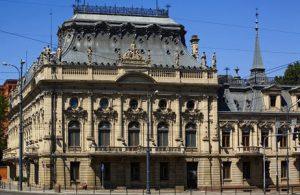 One small part of Poznanski's 100-room palace